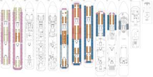 Deckplan Costa Magica