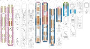 Deckplan Costa Pacifica