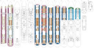 Deckplan Costa Diadema