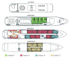 Deckplan Harmony G