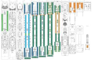 Deckplan MSC Magnifica