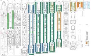 Deckplan MSC Musica