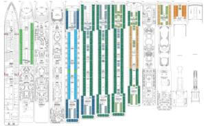 Deckplan MSC Poesia
