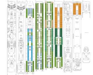 Deckplan MSC Sinfonia
