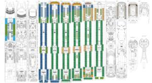 Deckplan MSC Splendida