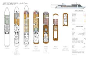 Deckplan Silver Whisper