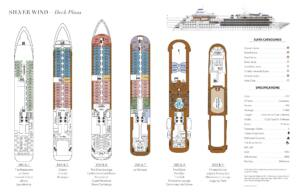Deckplan Silver Wind