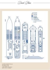Deckplan SeaDream II