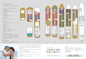 Deckplan Seabourn Ovation