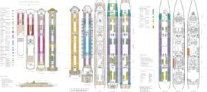 Deckplan Queen Mary 2